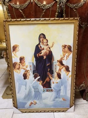Beautiful painting w gold frame for Sale in Cape Coral, FL