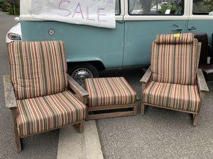 Outdoor furniture set - Jensen Jarrah for Sale in Kirkland, WA