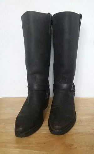 Women's Genuine Leather Black Western Boots for Sale in Detroit, MI