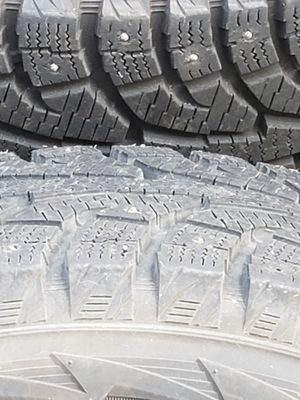 Hankook studded tires with rim's/ 235 /70R16 (used) for 2002 Ford Explorer. for Sale in Vancouver, WA