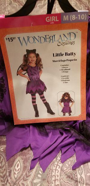 Bat costume size 8/10 kids for Sale in Murfreesboro, TN