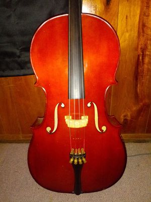 Cervini Cello-Acoustic, 3/4 Size (HC-100) for Sale in Bloomington, IL