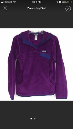 Purple Ladies Patagonia Hooded Small Pullover for Sale in Flagstaff,  AZ