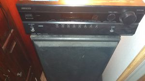 Onkyo receiver for Sale in Snohomish, WA