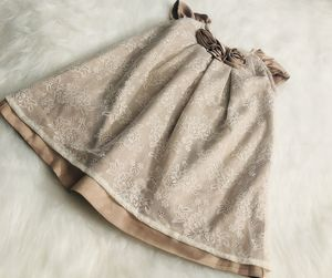 Wendy Bellissimo Brown Laced Dress *9 Months for Sale in Gresham, OR