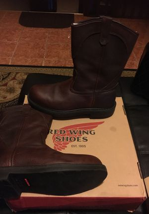 Red wings boots for Sale in Gainesville, GA