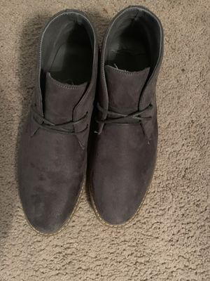 10.5 Gray Chukka Boots for Sale in Arlington, TX