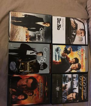 007 movies Good condition for Sale in St. Louis, MO