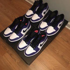Air Jordan 1 Low Court Purple for Sale in Springfield, VA