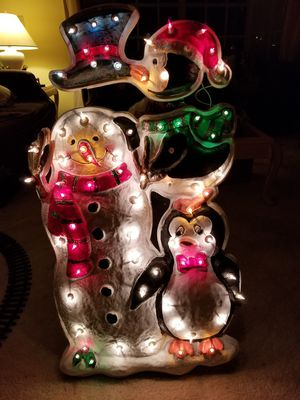 Christmas lighted sculpture for Sale in Miami, FL