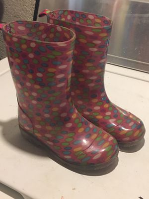 Rain boots young kid size 10/11 for Sale in Philadelphia, PA