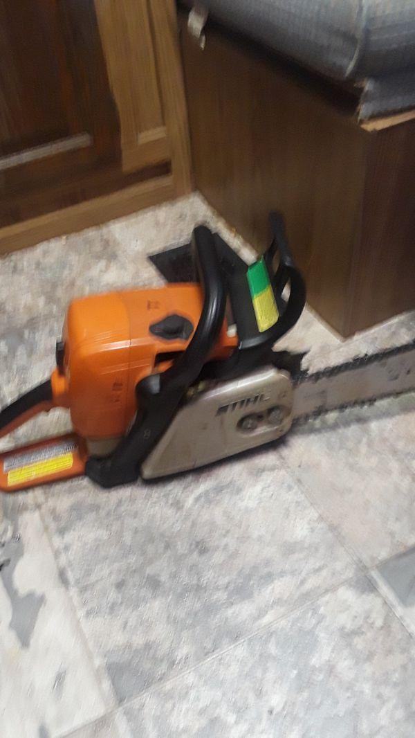 Stihl MS390 chainsaw