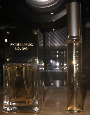 Michael Kors Full size perfume & travel roller-Sexy Amber for Sale in Peyton, CO