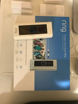 Ring doorbell pro and security 9 piece for Sale in Fontana, CA