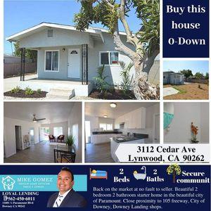 House for sale / Casa en venta for Sale in Downey, CA