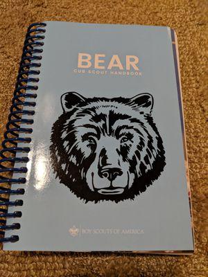 Cub Scouts Bear Handbook, 2018 Printing for Sale in Mercer Island, WA