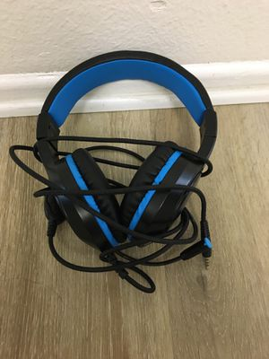 Masacegon gaming headphones for Sale in Placentia, CA