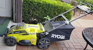 Ryobi lawn mower for Sale in Skokie, IL