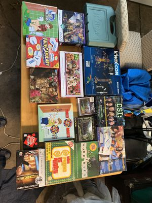 Games and puzzles 1$ each for Sale in West Chicago, IL