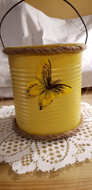 Handmade decorative pail for Sale in East Liverpool, OH