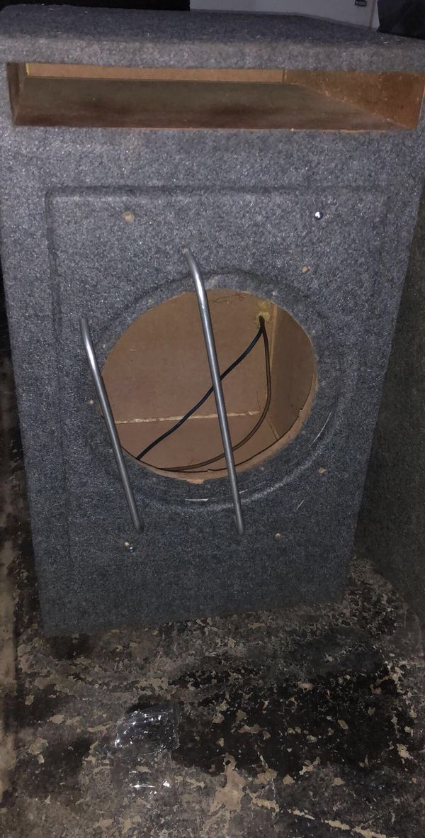 Jl audio w7 12 with Jl made box