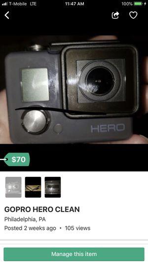 GoPro hero for Sale in Philadelphia, PA