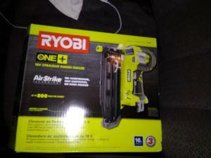 Ryobi one+ finish nailer for Sale in Kingsport, TN