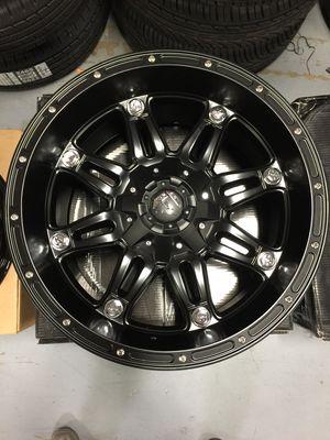 "Brand New 20"" Inch Fuel Hostage Matte Black 20X10 Wheels Rims Rines Aros 6X135 6X5.3 6X139.7 6X5 for Sale in Austin, TX"