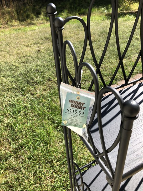 Hobby Lobby bakers rack/plant stand