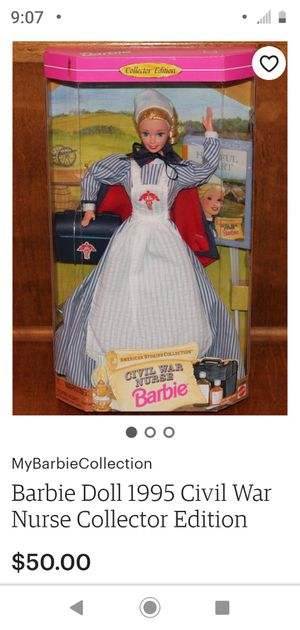 Civil War Barbie for Sale in Covington, KY