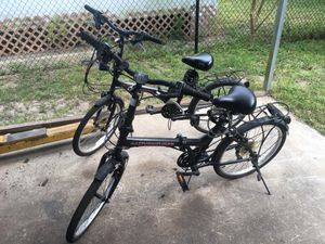 Fold up bikes for moterhome for Sale in Tampa, FL