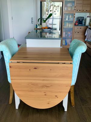 Kitchen/Dining Table for 2 -6 with 2 beautiful chairs for Sale in West McLean, VA