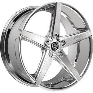 "20"" STAGGERED LEXANI R-FOUR CHROME RIMS for Sale in Montgomery, AL"