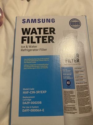 3 pack Samsung water filters for Sale in Tracy, CA