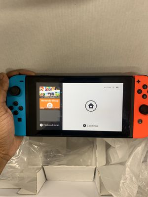 Red & Blue Nintendo Switch with All Accessories. for Sale in New York, NY