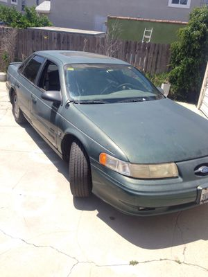 1995 Ford Taurus SHO ( Salvage ) Blown Transmission But Car Is Still Drivable Asking For 350$ O.B.O for Sale in Los Angeles, CA