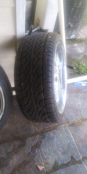 "22"" Rims 5log universal for Sale in Houston, TX"