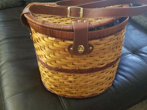 Picnic basket- completely stocked- brand new! for Sale in Thornton, CO