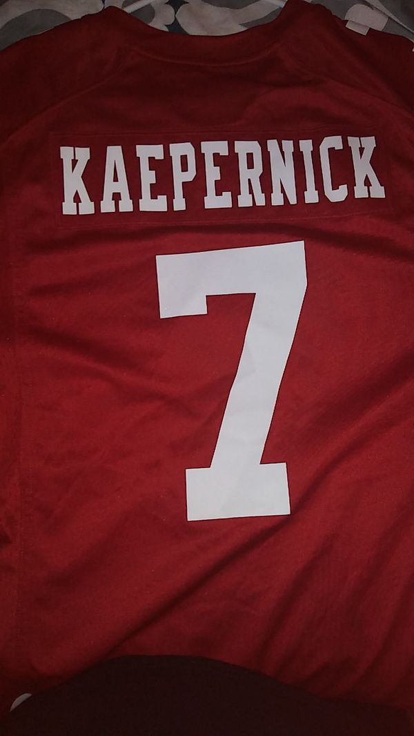 competitive price e3515 bbd18 Derek Nike jersey Kaepernick number 7 NFL for Sale in Fresno, CA - OfferUp