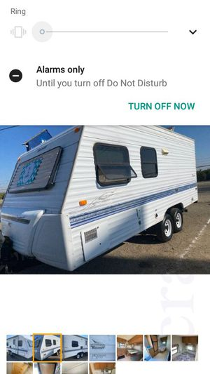 1998 Terry by Fleetwood 19foot travel trailer for Sale in Visalia, CA