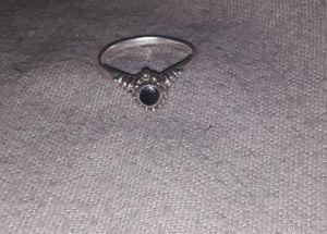 Black Stone Ring for Sale in Orick, CA