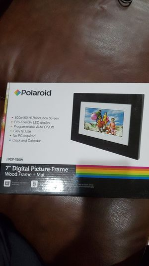 """NEW Polaroid 7"""" Digital Picture Frame for Sale in Seattle, WA"""