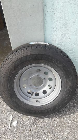 Trailer tire spare wheel tire for Sale in Flamingo, FL