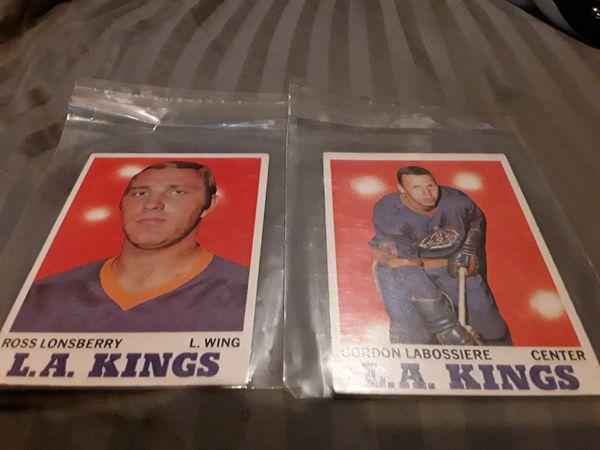 1960's Baseball, NHL Cards.