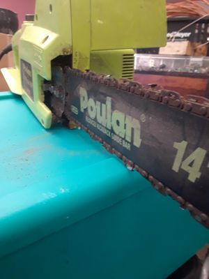 """POULAN 14"""" Electric Chainsaw for Sale in Portland, OR"""