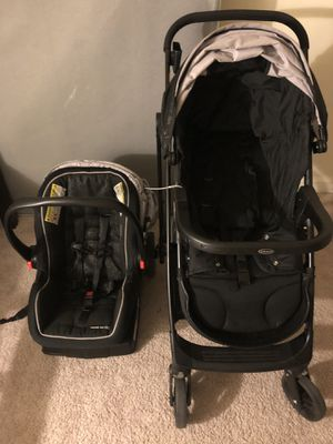 Chico baby car seat with base and stroller for Sale in West McLean, VA