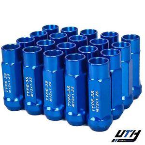 Godspeed 20pc Type 3-X Wheel Tuner Lug Nuts 12x1.25 Blue for Sale in El Monte, CA
