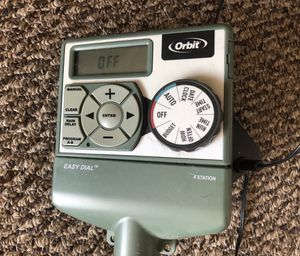 Orbit sprinkler timer -used- in good condition for Sale in Anaheim, CA