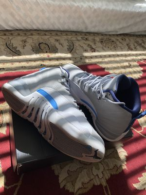 Air Jordan 12 retro university blue for Sale in Colma, CA