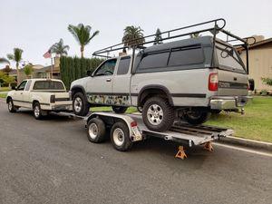 Snug Top camper. On a 1996 Toyota T100 $400 for Sale in La Mirada, CA